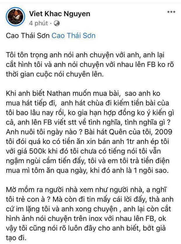 Nguyễn Văn Chung: Cao Thái Sơn là phải gặp Khắc Việt, thân lừa ưa nặng-1