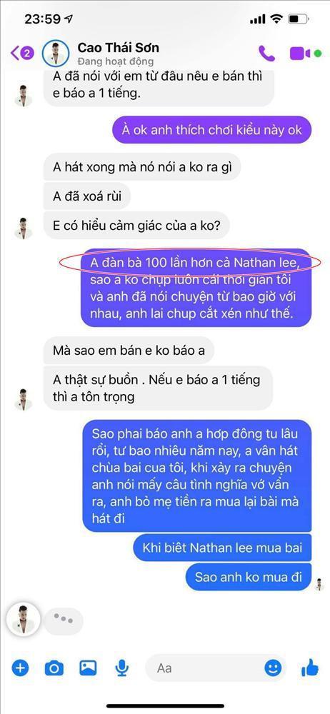 Nguyễn Văn Chung: Cao Thái Sơn là phải gặp Khắc Việt, thân lừa ưa nặng-2