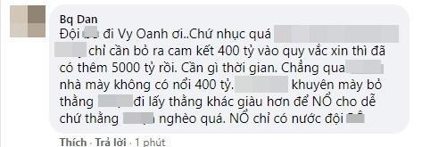 Tuyên bà Phương Hằng thua cuộc, Facebook Vy Oanh phủ icon phẫn nộ-9