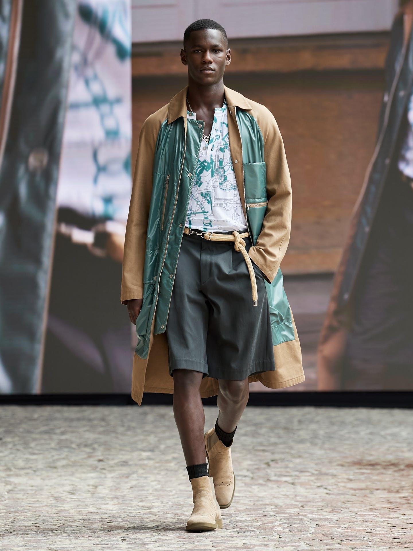 Hermès hướng đến sự nhẹ nhàng và tự do cho bộ sưu tập nam mới - 1