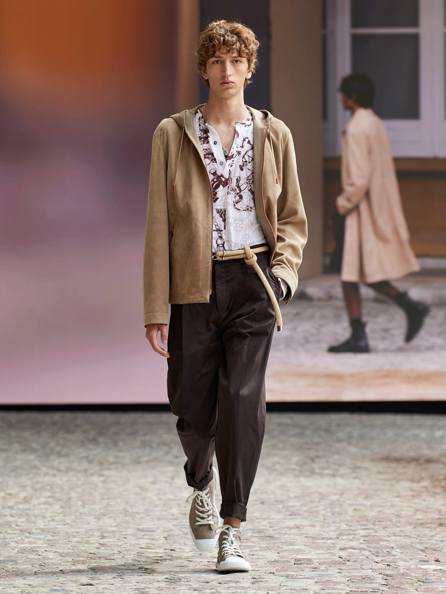 Hermès hướng đến sự nhẹ nhàng và tự do cho bộ sưu tập nam mới - 4