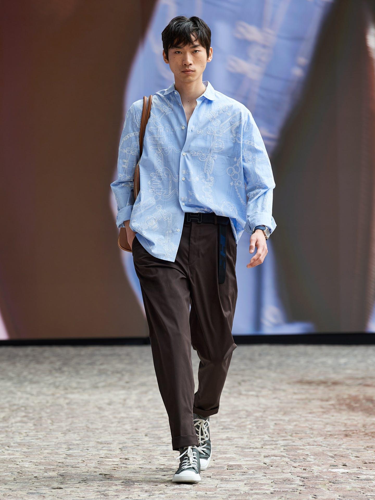 Hermès hướng đến sự nhẹ nhàng và tự do cho bộ sưu tập nam mới - 6