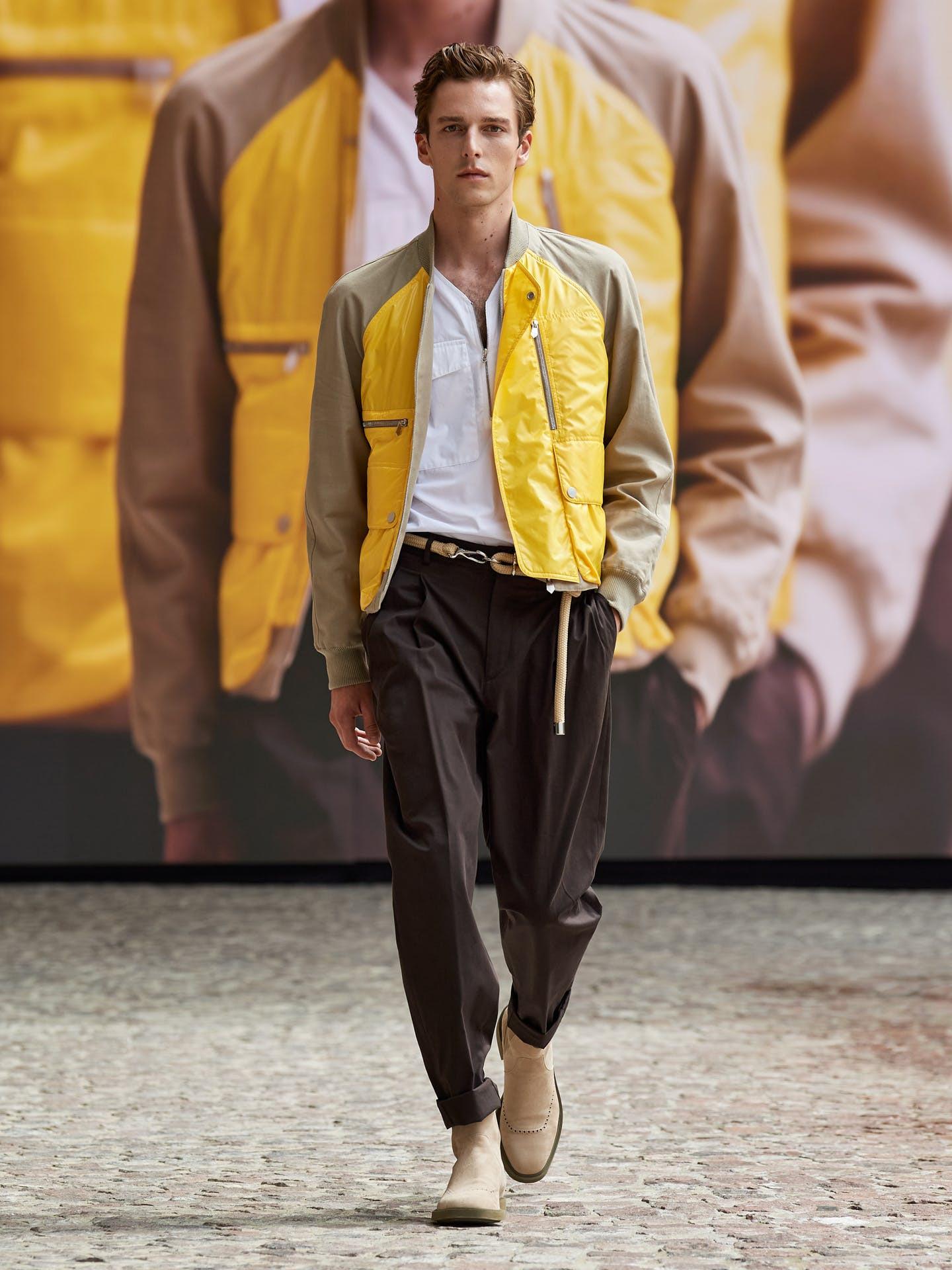 Hermès hướng đến sự nhẹ nhàng và tự do cho bộ sưu tập nam mới - 5