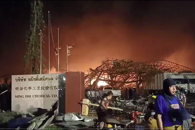 Thai Lan: No nha may hoa chat o ngoai o Bangkok, so tan khan dan hinh anh 1