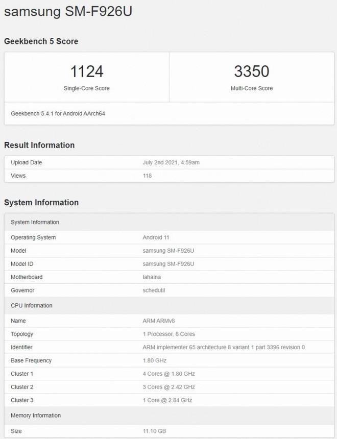 Galaxy Z Fold3 không được trang bị chip Snapdragon 888+ - Ảnh 2.