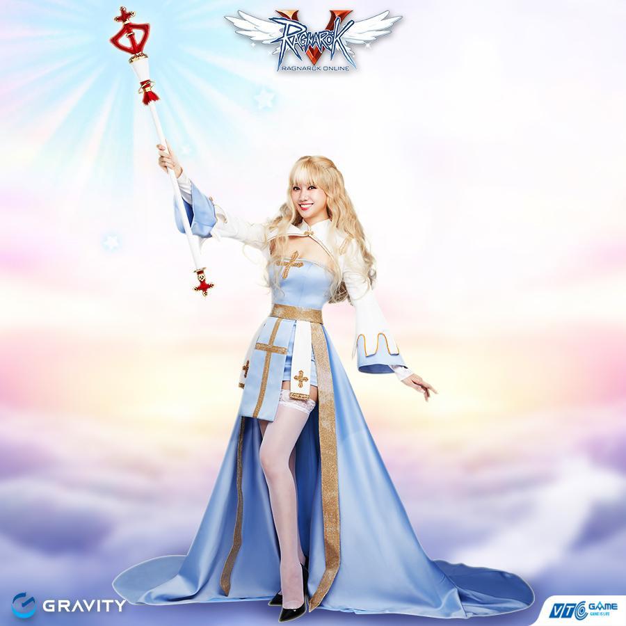 Hari Won đẹp xuất thần khi cosplay nhân vật 'nữ giám mục' trong Ragnarok Online-3