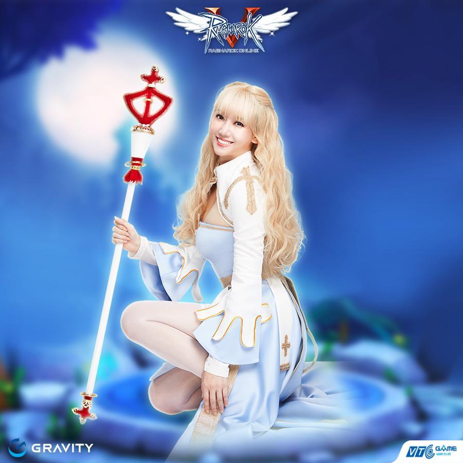 Hari Won đẹp xuất thần khi cosplay nhân vật 'nữ giám mục' trong Ragnarok Online-4