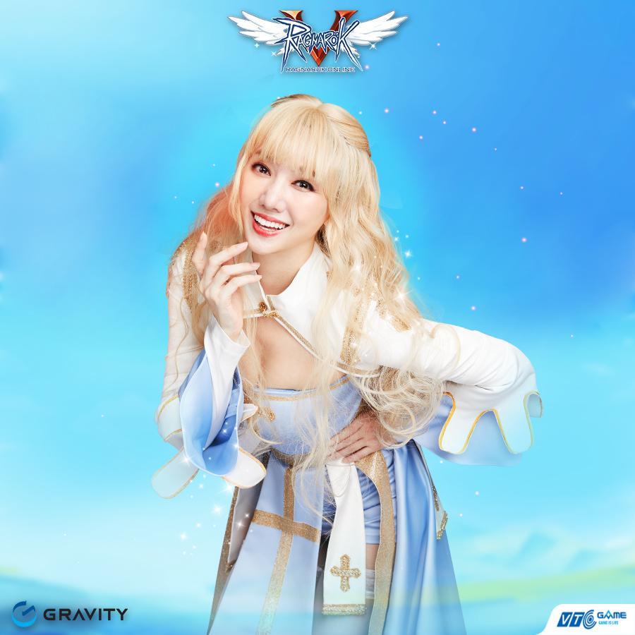 Hari Won đẹp xuất thần khi cosplay nhân vật 'nữ giám mục' trong Ragnarok Online-5