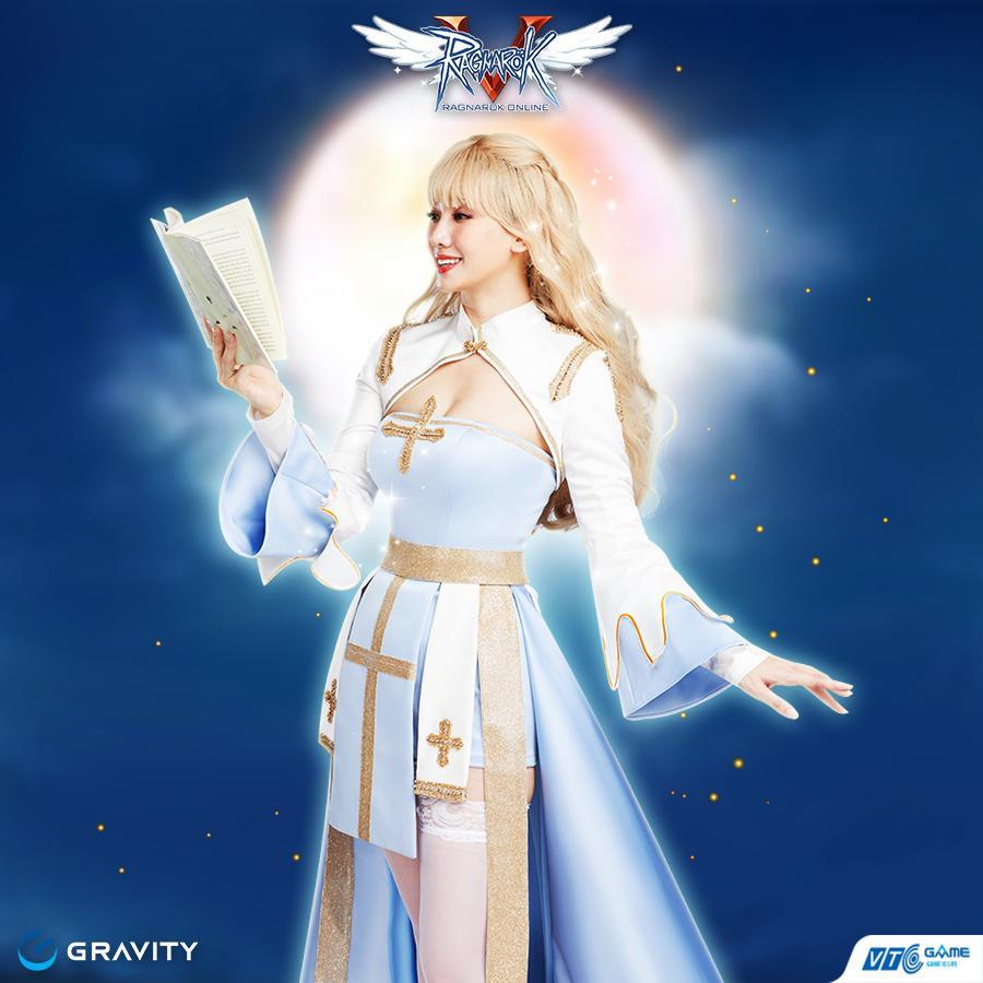 Hari Won đẹp xuất thần khi cosplay nhân vật 'nữ giám mục' trong Ragnarok Online-6