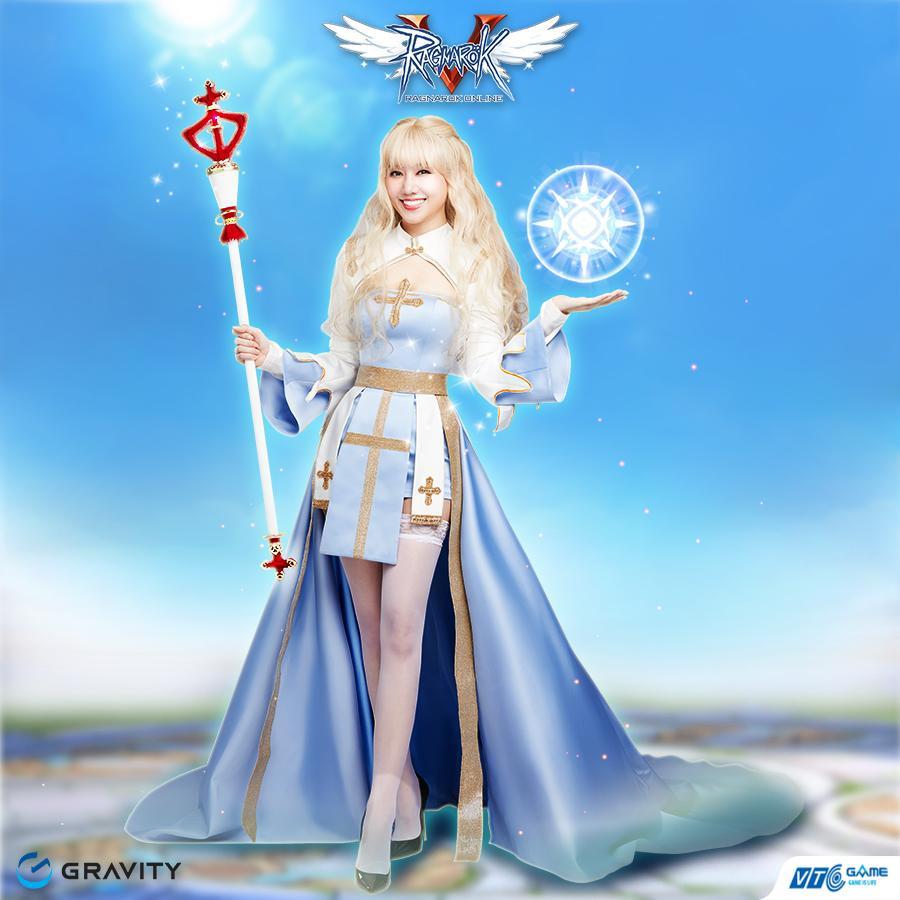 Hari Won đẹp xuất thần khi cosplay nhân vật 'nữ giám mục' trong Ragnarok Online-8