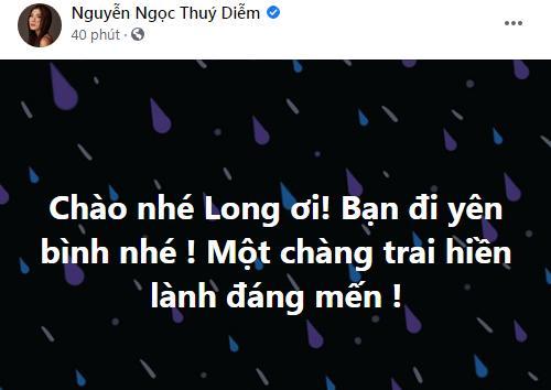 Dàn sao Việt bàng hoàng khi hay tin Đức Long qua đời-9