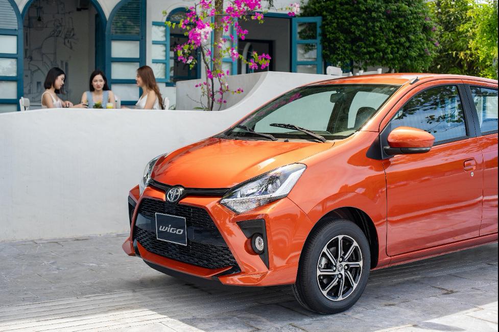 Toyota Wigo điều khiển rất nhẹ nhàng và phù hợp với những khách hàng mới lái