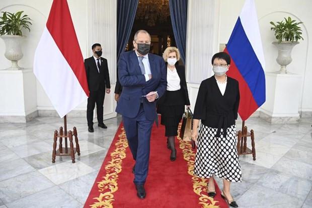 Ngoai truong Lavrov: Nga uu tien phat trien quan he voi ASEAN hinh anh 1
