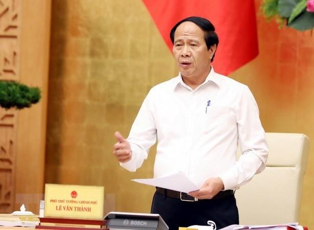 Pho Thu tuong Le Van Thanh lam Chu tich Hoi dong dieu phoi vung DBSCL hinh anh 1