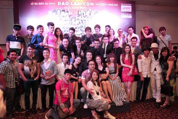 Vpop từng có ca khúc đạt kỷ lục Guinness Việt Nam về số ca sĩ hòa giọng 1