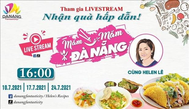 Quang ba am thuc Da Nang truc tuyen cung nguoi noi tieng hinh anh 1