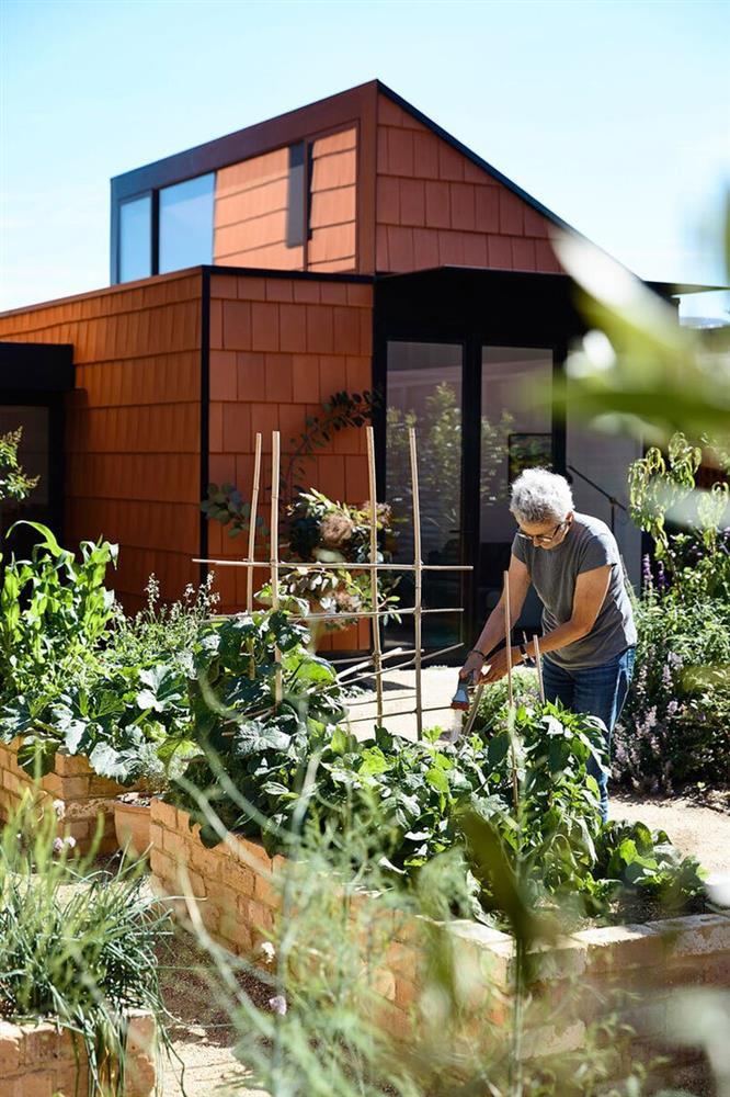 Cải tạo căn nhà cũ thành ngôi nhà đa thế hệ, có vườn cây xanh mát bao quanh khiến nhiều người ngưỡng mộ-5
