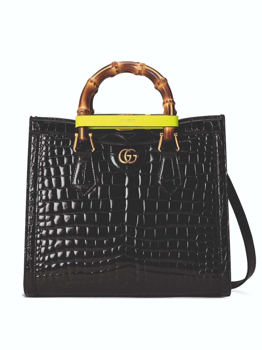 Gucci Diana Bag crocodile