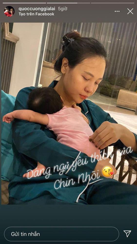 Đàm Thu Trang khoe vòng 1 phồn thực sau 7749 lần bị Cường Đô La dìm-3