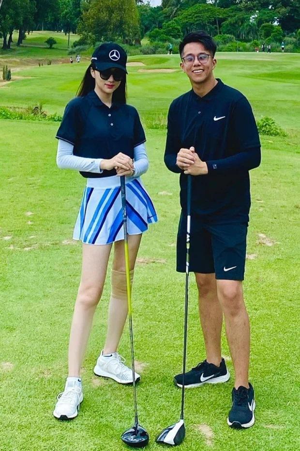 Sau 4 tháng ở ẩn, Hương Giang tái xuất đi chơi golf cùng Đỗ Mỹ Linh?-2