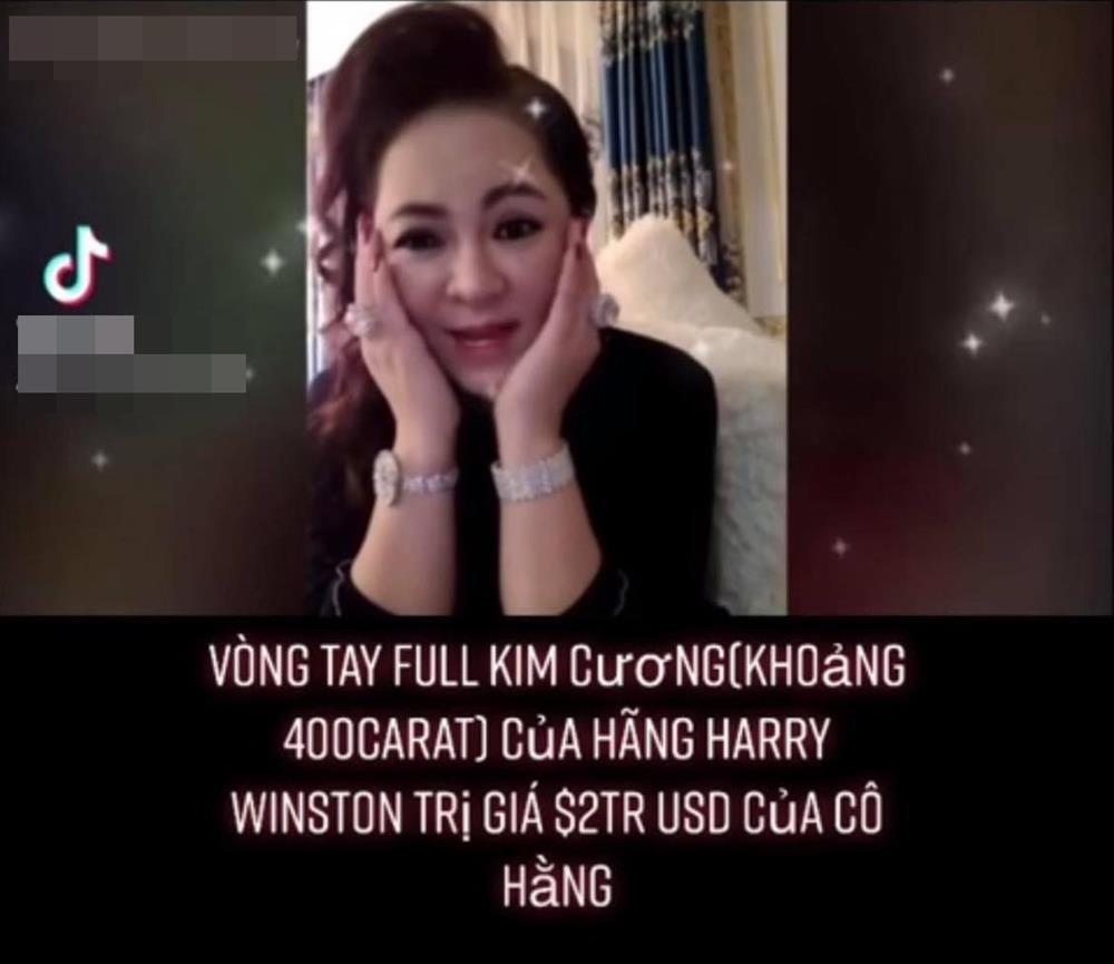 Bà Phương Hằng đeo vòng kim cương giá bằng căn biệt thự-3