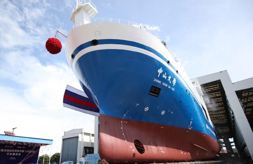 (07.08) Tàu Tôn Trung Sơn dự kiến sẽ tiến vào Biển Đông trong tháng 10/2021. (Nguồn: China Daily)