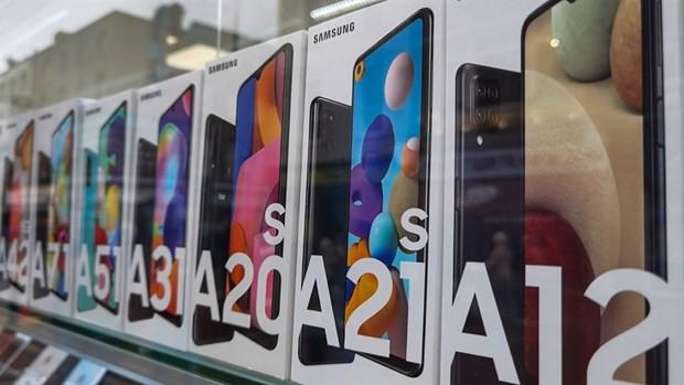Samsung chiem gan 50% thi truong bo nho smartphone toan cau quy 1 hinh anh 1