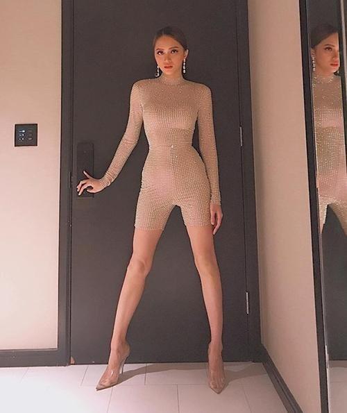 sao Việt bị chê phản cảm khi mặc đồ màu nude 11