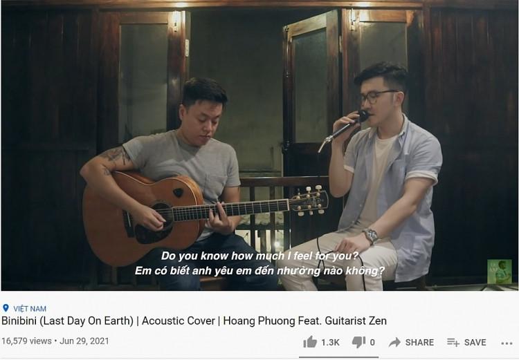 Bất ngờ trước bản cover ca khúc #1 Viral toàn cầu 'Binibini' của Hoàng Phương