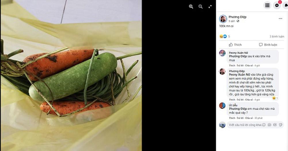 Sài Gòn trước cách ly: Rau xanh tăng dựng đứng, giá trứng lên gấp đôi-3