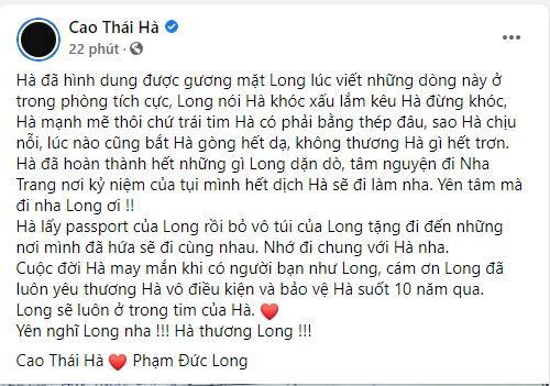 Lễ di quan Đức Long diễn ra u buồn, Cao Thái Hà công khai di nguyện-3