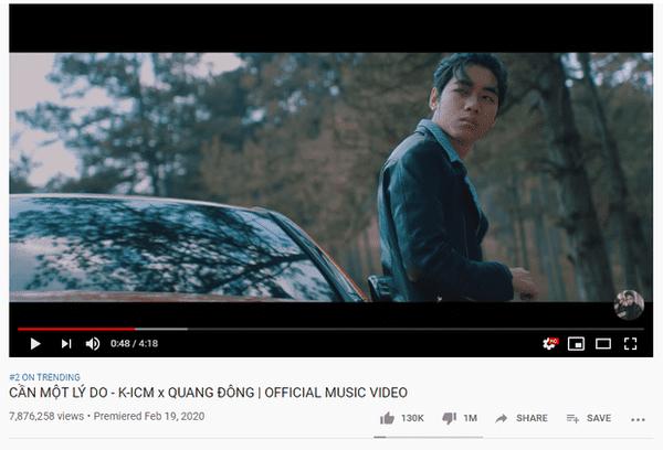 MV đầu tiên đạt 1 triệu dislike của Vpop