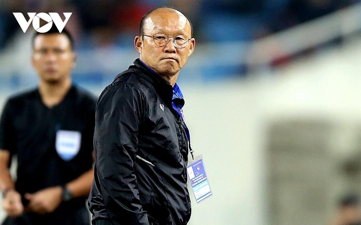 HLV Park Hang Seo sẽ về Hàn Quốc chịu tang