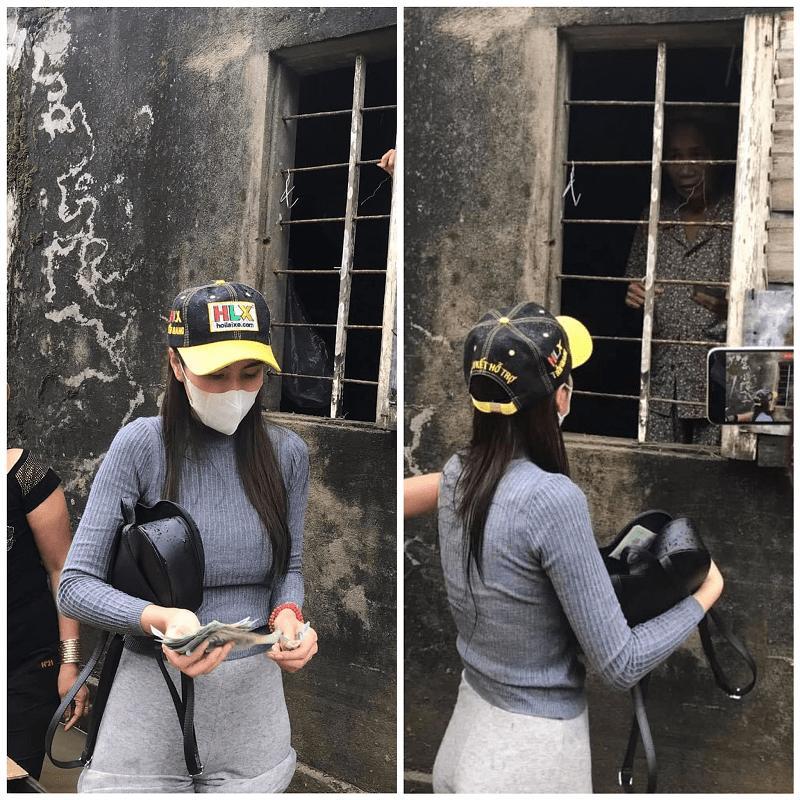 Bộ sưu tập giày lênh khênh, áo hở ngực của mỹ nhân Việt khi đi từ thiện-3