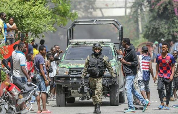 Haiti de nghi Lien hop quoc va My giup dam bao an ninh hinh anh 1
