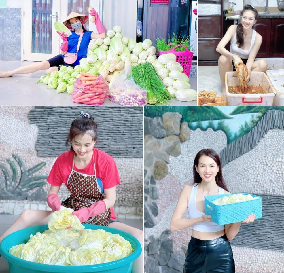 Nghệ sĩ Việt bán kim chi, thanh lý quần áo thời dịch-1