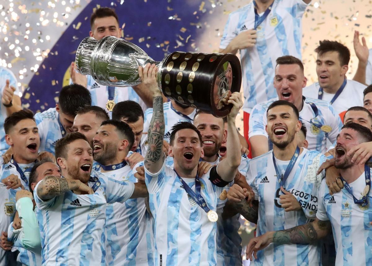 Messi xứng đáng có được danh hiệu Copa America 2021 cùng ĐT Argentina. (Ảnh: Reuters).