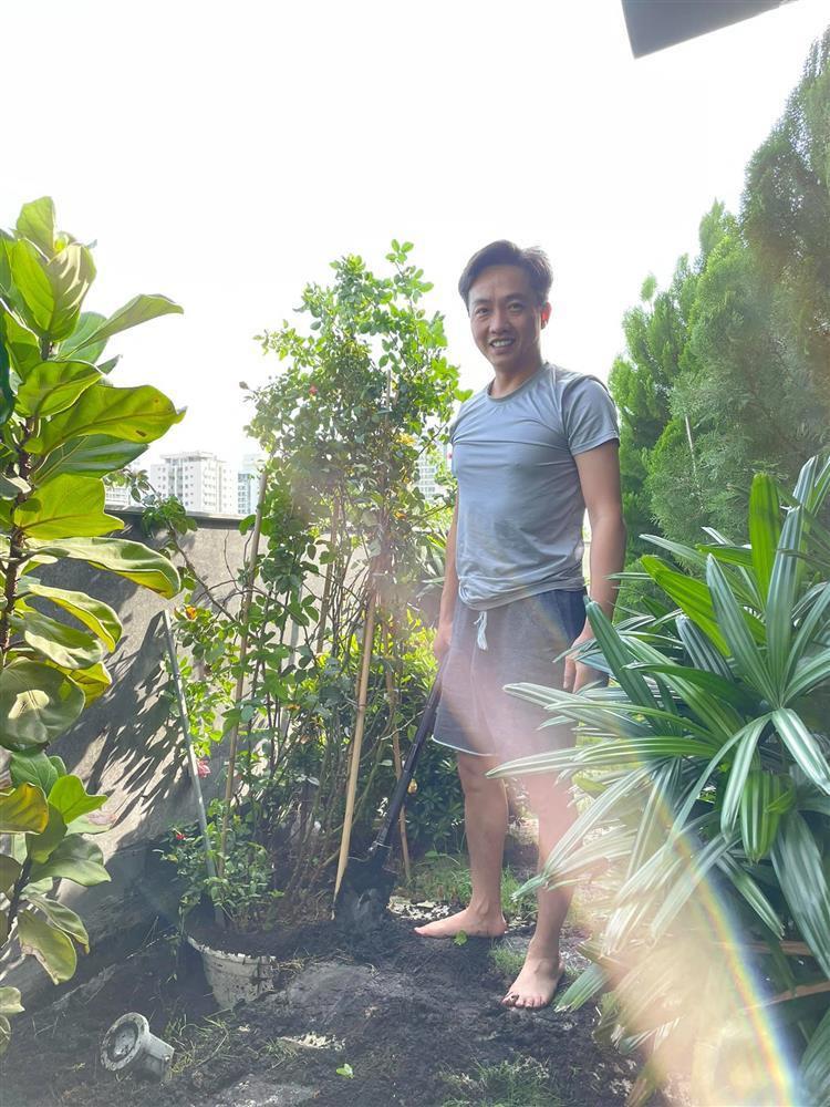 Đã mắt ngắm khu vườn sân thượng của Cường Đô La-1