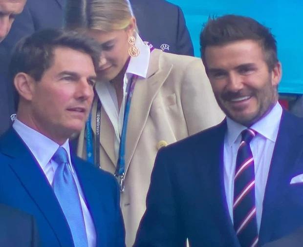 Chung kết Euro 2020: Tom Cruise và Beckham khiến thế giới chao đảo-2
