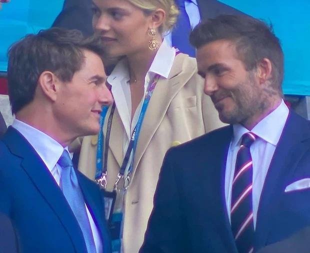 Chung kết Euro 2020: Tom Cruise và Beckham khiến thế giới chao đảo-4