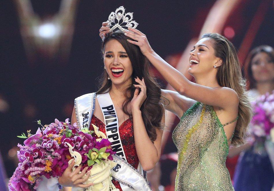 Hoa hậu Hoàn vũ tăng cân như... đô vật, 3 vòng thẳng đuột-12