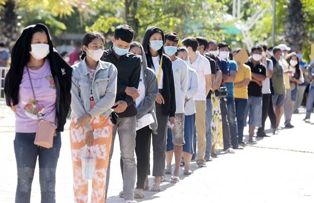 So benh nhan mac COVID-19 tai Campuchia vuot qua 61.000 nguoi hinh anh 1