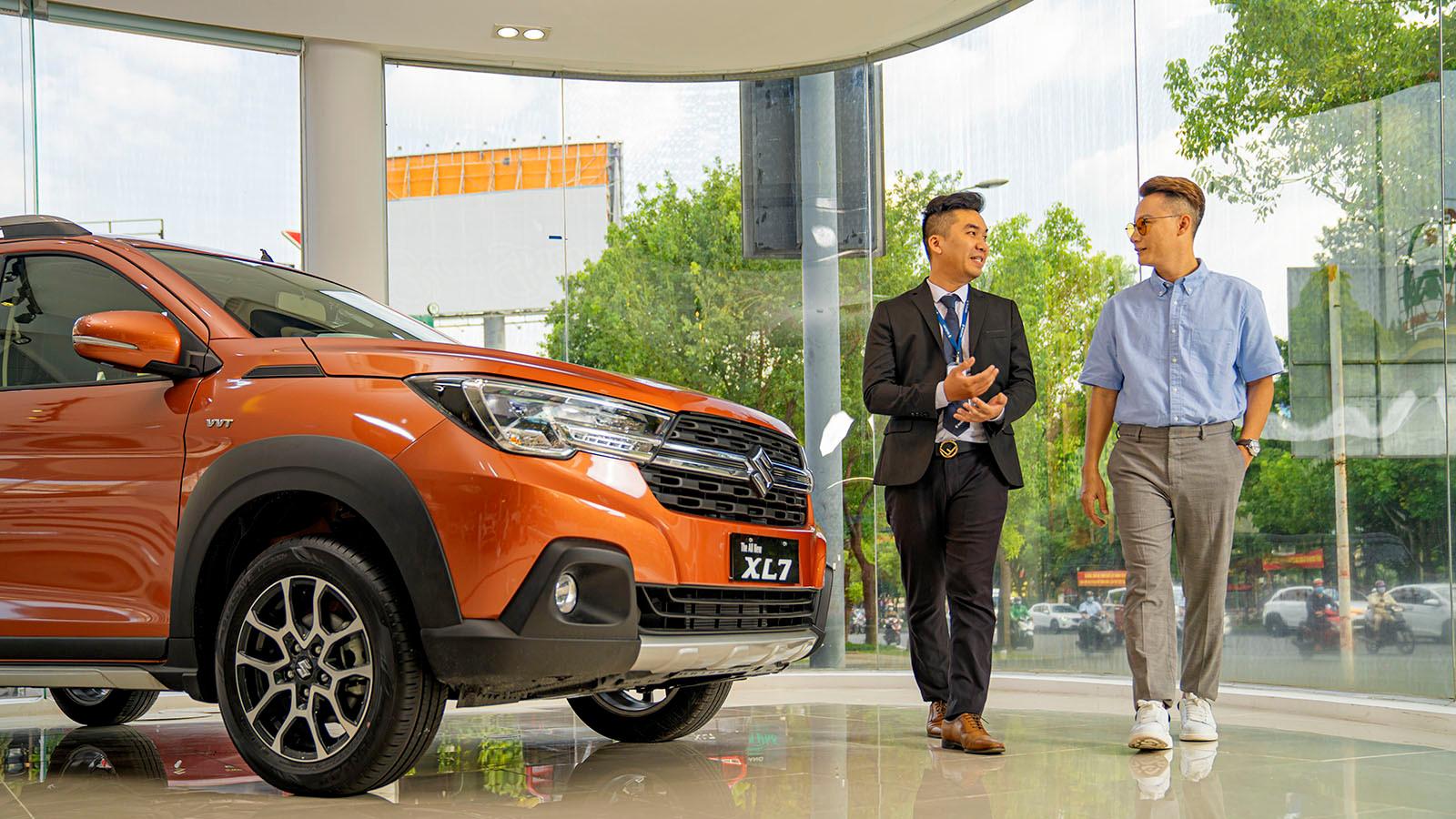 Suzuki liên tục mở rộng hệ thống phân phối và hiện đã có 38 đại lý trên toàn quốc