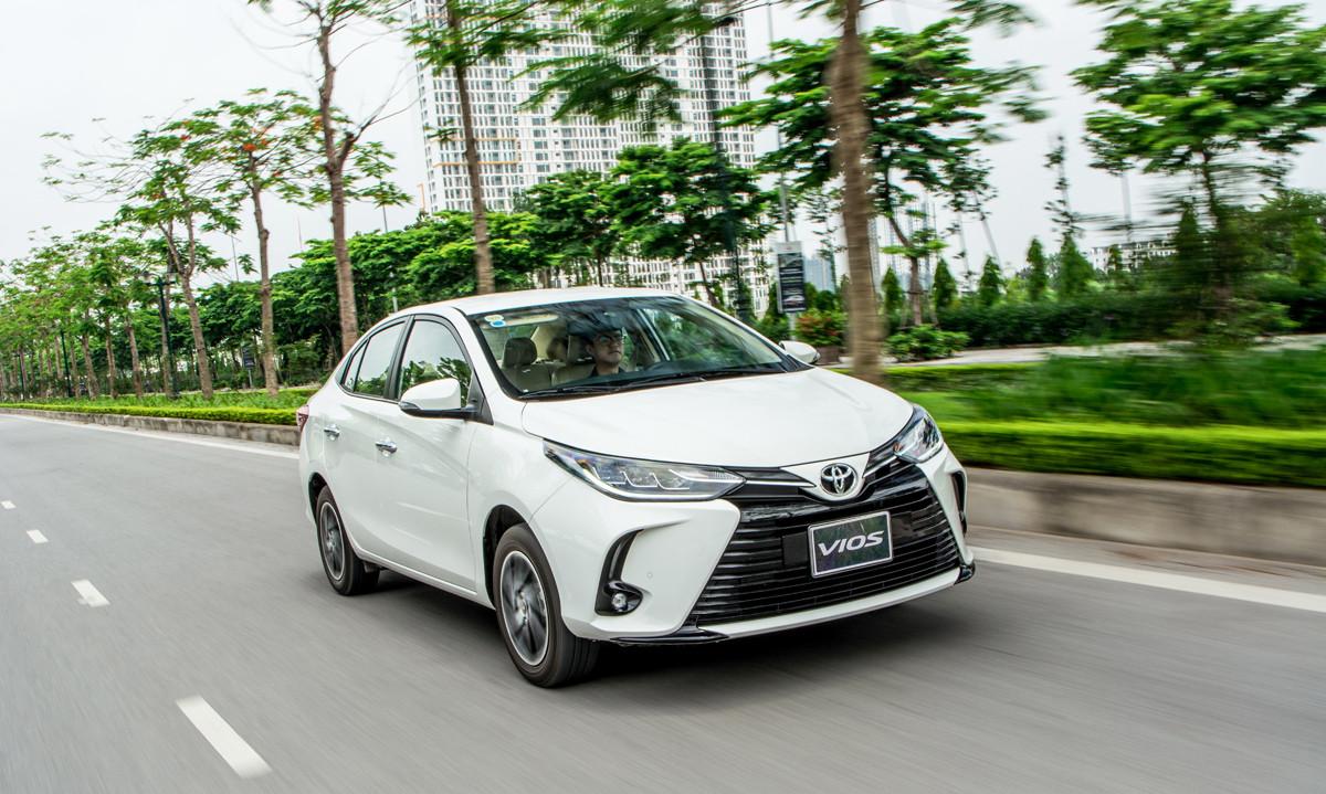 Mẫu xe Toyota Vios luôn có mặt trong Top xe bán chạy nhất tại Việt Nam