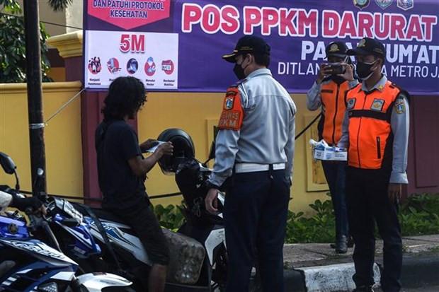 Indonesia: Gan mot nua dan so thu do Jakarta mac COVID-19 hinh anh 1
