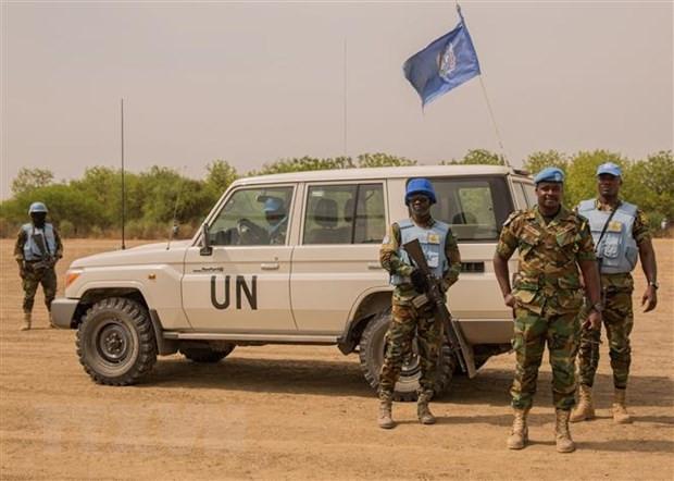 Lien hop quoc dang no luc thuc day hoa binh o Nam Sudan hinh anh 1