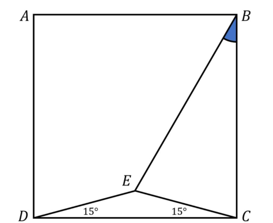 Bài toán tính góc đơn giản nhưng không phải ai cũng làm được