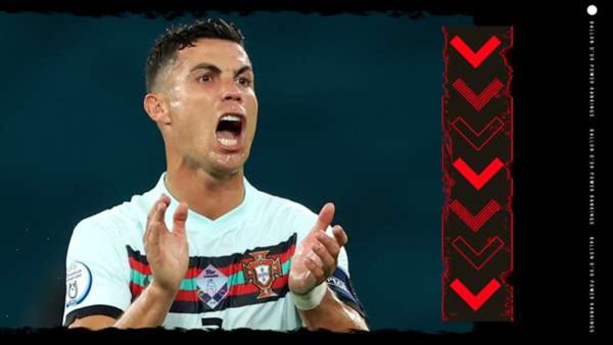 8. Cristiano Ronaldo (Juventus) | Thành tích trong năm 2021: 27 bàn thắng, 4 kiến tạo. Vô địch Coppa Italia & Siêu cúp Italia.