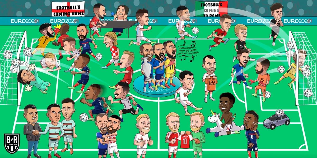 Sau hơn 1 tháng tranh tài, EURO 2021 đã khép lại.