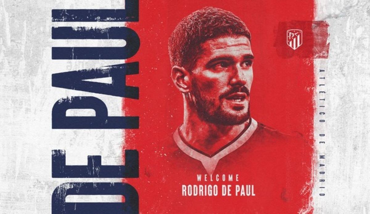 Atletico Madrid chiêu mộ thành công Rodrigo de Paul.